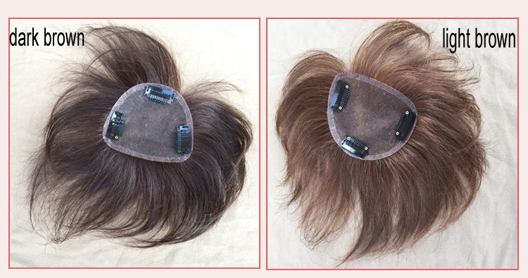 cheap men toupee with 3 clips real