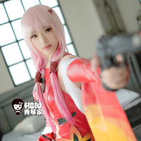 HSIU Rose Network Guilty Crown Cosplay Wig Inori Yuzuriha Costume Play Woman Adult Wigs Halloween Anime