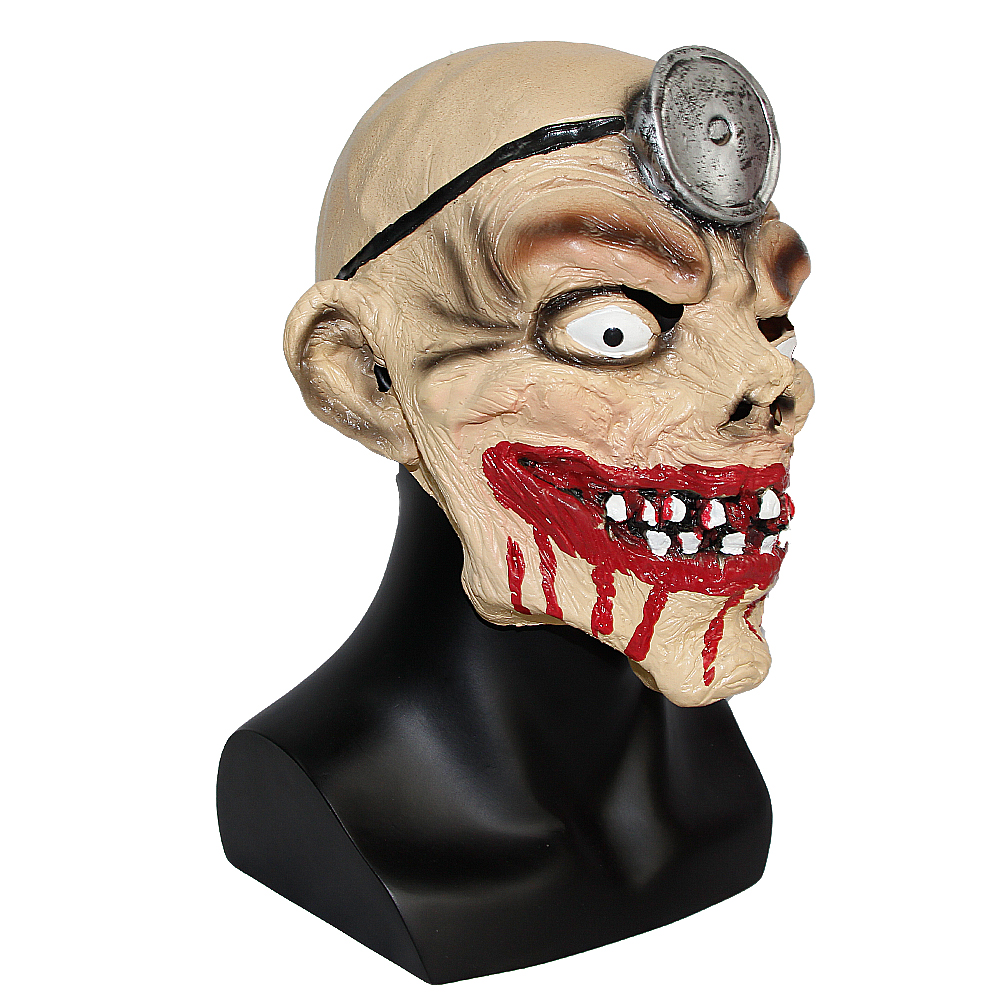 X MERRY TOY Halloween Horror Masks Adult Costume Creepy Latex ...