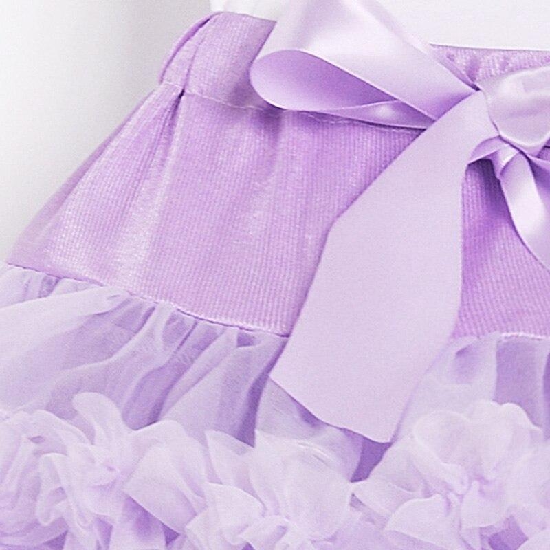 Лавандовая юбка-пачка для маленьких девочек, шифоновая юбка-пачка, детские юбки для танцев, юбка-пачка для первого дня рождения для девочек