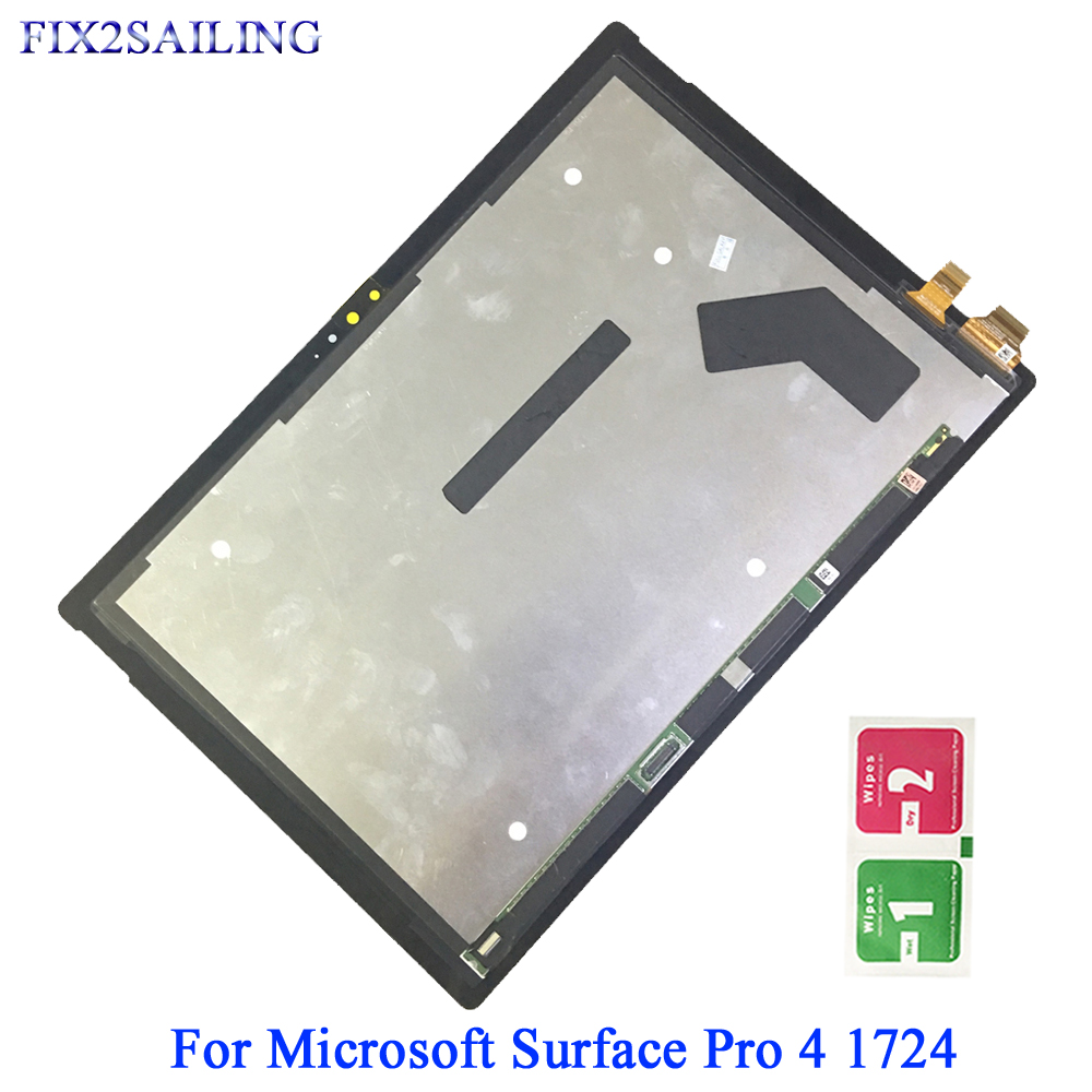 12.3 For MicroSoft Surface Pro 4 1724 LCD Display Touch Screen Digitizer Assembly Replacement12.3 For MicroSoft Surface Pro 4 1724 LCD Display Touch Screen Digitizer Assembly Replacement