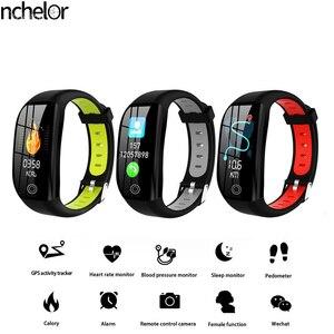 F21 Reloj Inteligente Deportes Actividad Monitor De Ritmo Cardaco Sangre Presin Pulsera IP67 Impermeable Banda Podmetro Para IOS(China)