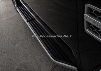 Barre de Nerf de pédale latérale de marchepied en aluminium de voiture pour découverte de Land Rover 3/4 LR3 LR4 2006-2009/2010-2017 par Fedex