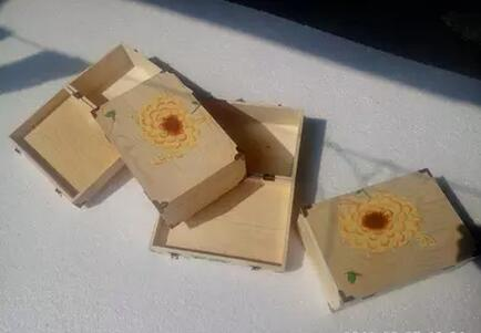 Custom Packing Box Wholesale Gift Box In Chain Wood Box