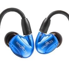 2017 MaGaosi K3 PRO Avec Filtres Dans L'écouteur D'oreille 2 BA hybride avec Dynamique 3 Unités Intra-auriculaires Amélioré K1 Avec MMCX Interface casque