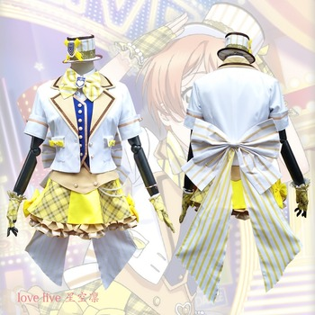 2018 New LoveLive! Card HR Hoshizora Rin Cosplay Costume Fancy Dress Adult Costumes Carnival/Halloween Costumes for Women S-XL 2