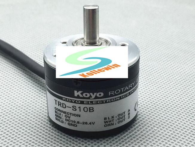 TRD-S10B Encoder / solid shaft optical rotary encoder / low pulse encoder, New In Box, Free Shipping.