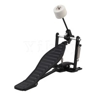Yibuy Black Aluminum Children Rack Drums Parts Drum Pedal And Drumstick