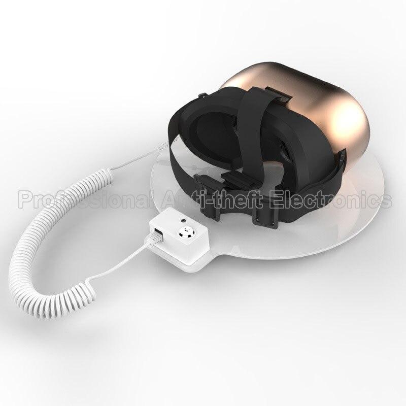 10 unids/lote VR gafas de seguridad pantalla titular de la Cámara dispositivo anti-robo para auriculares tableta, reloj etc.