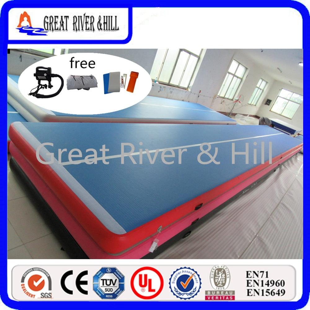 Great river hill new design air track 15mx2mx20cm training mat font b sports b font mat