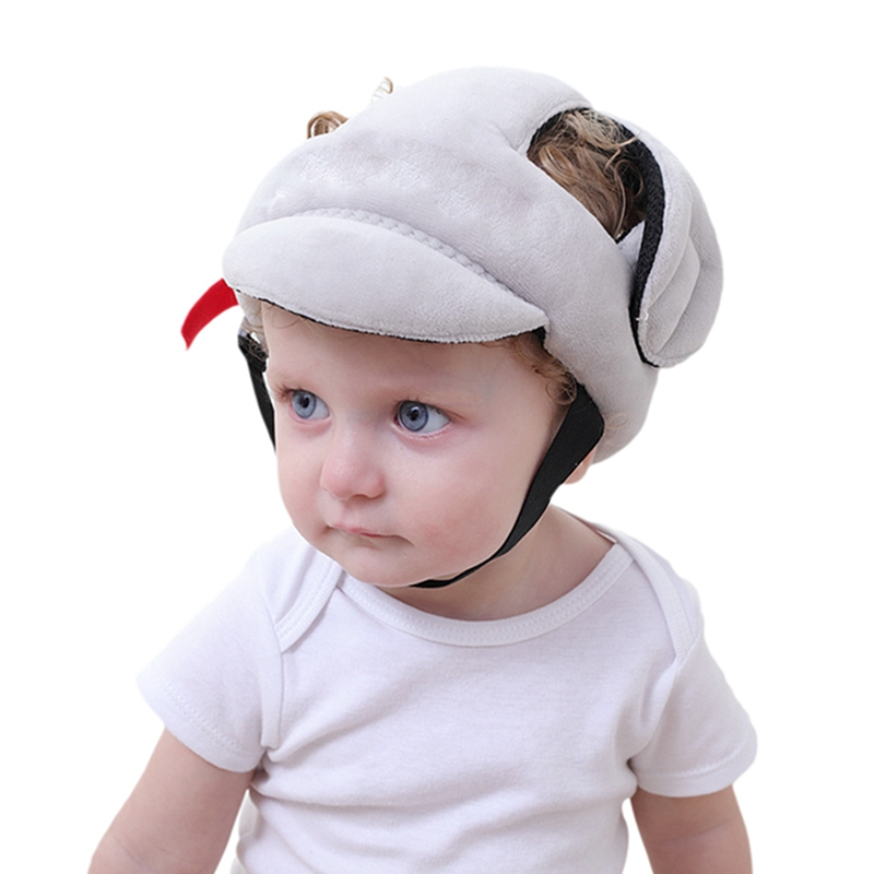 Hats & Caps Toddler Walking Play Head Protect No Bumps Helmet Headguard Adjustable Baby Kids Safety Head ProtectorHats & Caps Toddler Walking Play Head Protect No Bumps Helmet Headguard Adjustable Baby Kids Safety Head Protector