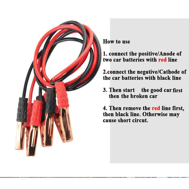 Juiste manier om hook up Booster kabels