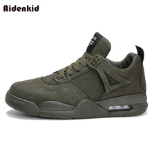 Aidenkid 2019 new fashion sports shoes mens thickening sneakers tennis