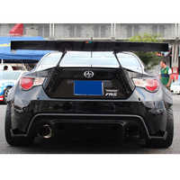 GT86 FR-S BRZ Car Styling FRP Fiberglass Primer Rear Luggage Compartment Spoiler Car Wing for Toyota 86 Scion FR-S Subaru BRZ