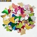 10 кг/лот конфетти цветные бумажные аксессуары бабочка бумага выглядит хорошо для конфетти машина salyut в сценическом эффекте
