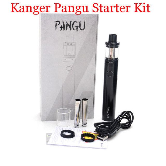 Оригинал Kanger Pangu Комплект Топ Заполнения 3.5 мл Емкость Pangu Бак с 2500 мАч Аккумулятор Новый PGOCC Головки Катушки vs Kanger evod мега ГГ