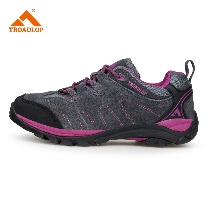 ФОТО Manufacturers wholesale leather outdoor men and women climbing shoes wear resistant non slip hiking shoes sports shoes