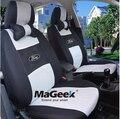 Universal de la Cubierta de Asiento de Coche Para Ford Focus Fiesta mondeo Edge Explorador Taurus coche cubierta de asiento de Coche Que Labra los accesorios