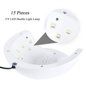 Image 3 - UV LED Nail Lamp 30W/9W USB Manicure Dryer For Curing All Gel Varnish Nails Drying Machine Tools 30s/60s/90s LASunX7Plus 1
