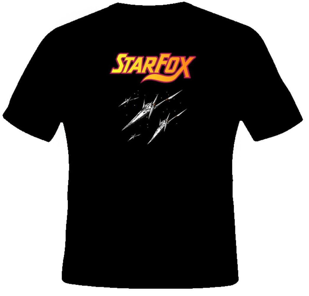 Star Fox Retro Video Game T Shirt