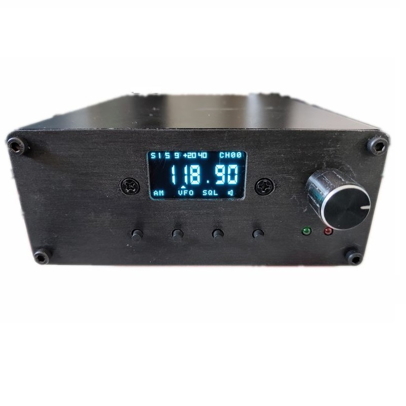 For R100 FM/AM Receiver Suite Digital Display Aviation Band High Frequency Head Receiver 28-1020MHz