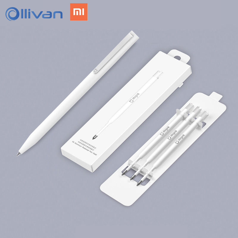 Originale Xiaomi Mijia Penne Segno 9.5mm Firma Penne PREMEC Liscia Svizzera Ricarica MiKuni Giappone Inchiostro aggiungere 3 pz Mijia penne Ricariche