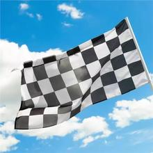 90x150cm 3x5ft digital print F1 race check flags polyester checker flying banners