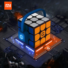 [Update Version ] Original Xiaomi Mijia Giiker i3s AI Intelligent Super Cube Smart Magic Magnetic Bluetooth APP Sync Puzzle Toys(China)