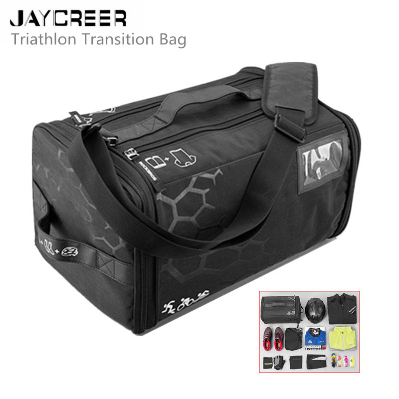 Multisport Cycling Swimming Sports Athletic Bags Gym Bag Travel Duffel Bag Bright Jaycreer Triathlon Bag Ideal For Triathlon Gear