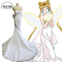 Newest Sailor Moon Cosplay Costume Princess Serenity Dress Tsukino Usagi Costume For Women Halloween Custom Made