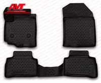 Floor mats for Suzuki Vitara 2015 4 pcs rubber rugs non slip rubber interior car styling accessories
