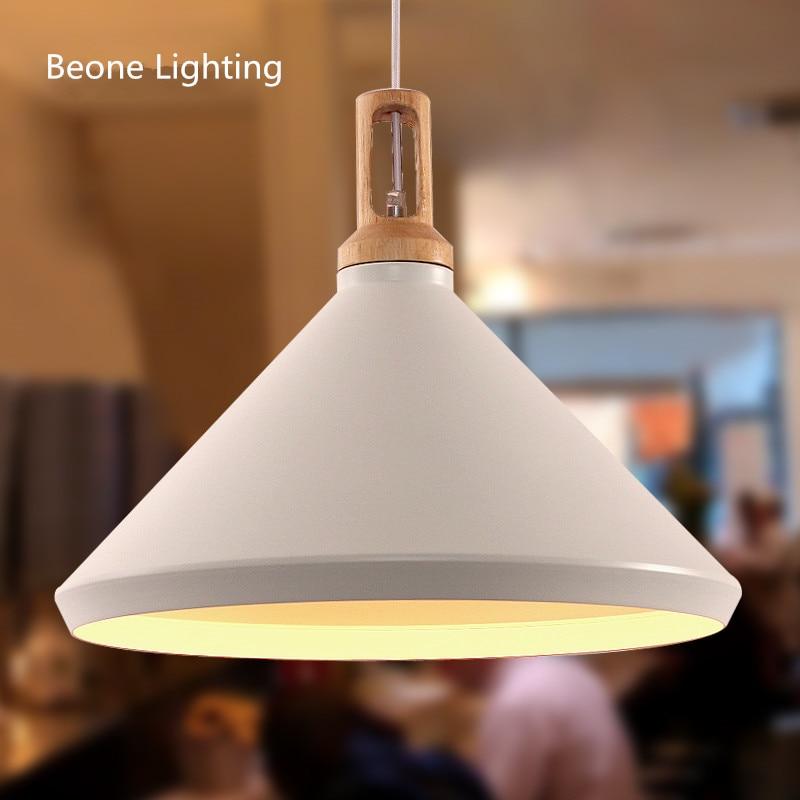 Réplique Nonla E27 moderne blanc pendentif lumières pendentif lampe pendentif lumière pendentif éclairage