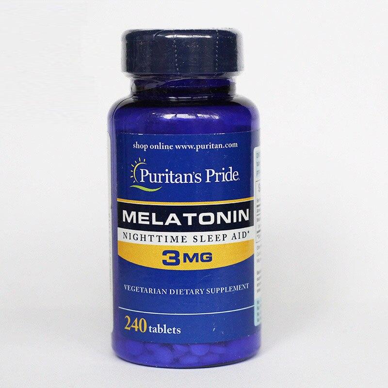 Free Shippping Melatonin Nighttime Sleep Aid 3 mg 240 pcs free shipping melatonin 3 mg 240 pcs