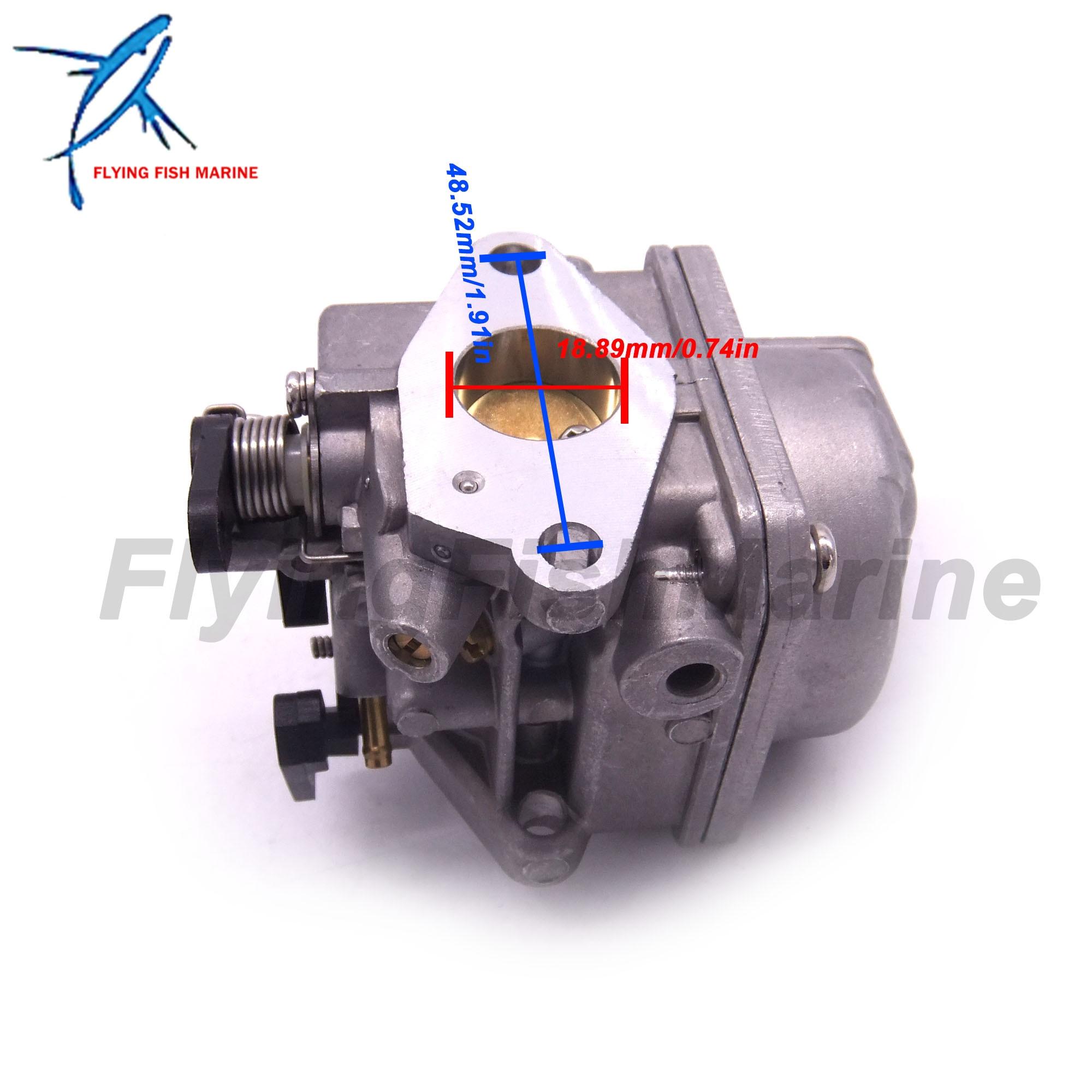 Image 5 - 3JE 03200 0 3JE032000 3JE032000M Outboard Motor Carburetor Assy  for Tohatsu Nissan 4 stroke 6HP MFS6C NFS6C Boat EngineBoat Engine   -
