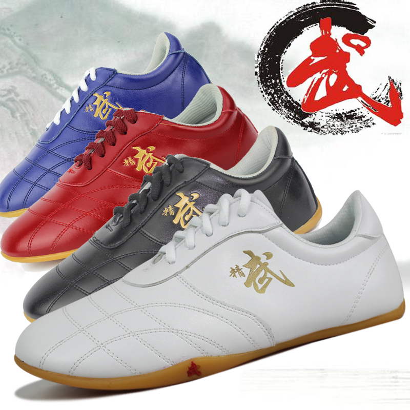 Major Tai Chi shoes Sole Soft Leather Ox Tendon Bottom Practice Kung fu Shoe Martial Art