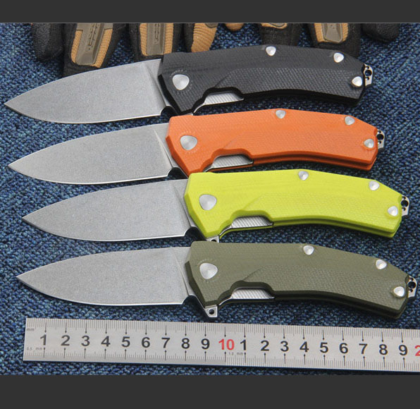 KUR Steel Lion Folding Knife Sleipner Blade G10 Camping Survival Tactical Utility Knives Pocket Collection EDC