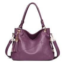 2019 shoulder bag women designer handbag female Hobo bag tote soft artificial leather Large capacity crossbody bags ladies