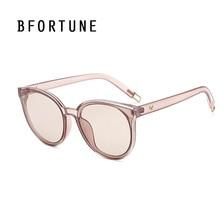 BFORTUNE 2017 Ronda gafas de Sol de Las Mujeres Diseñador de la Marca de Moda Del Espejo de La Vendimia Gafas de Sol Gafas de sol UV400 Oculos Femininos mujer