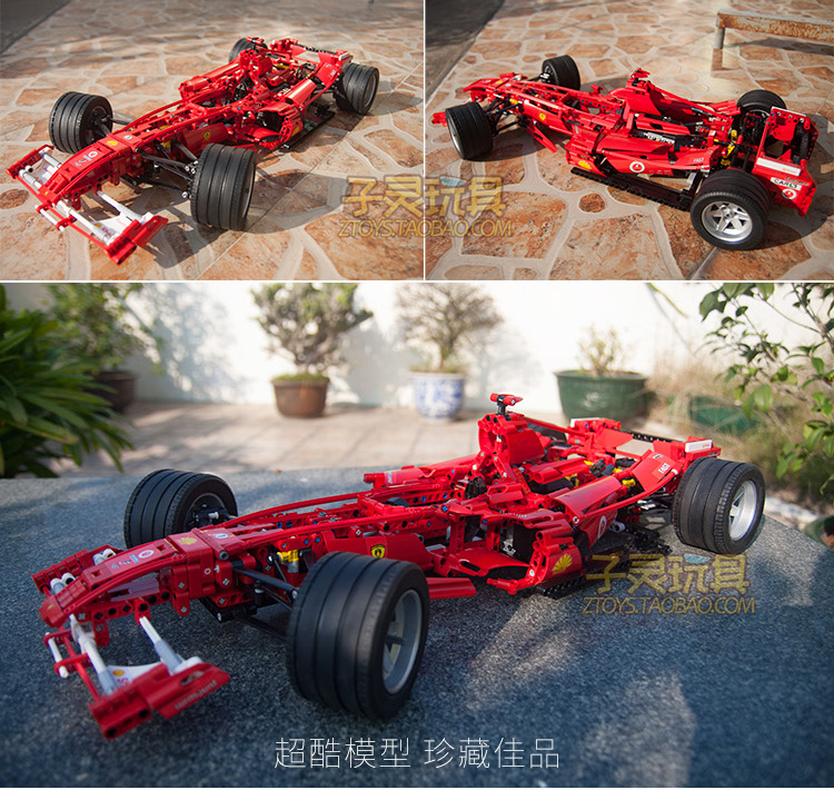 F1 Assembly Puzzle  Car Compatible with  Highly Difficult Assembly Car Model Toy 97pcs diy wooden tractor mechanical transmission model assembly puzzle toy for ugears gift