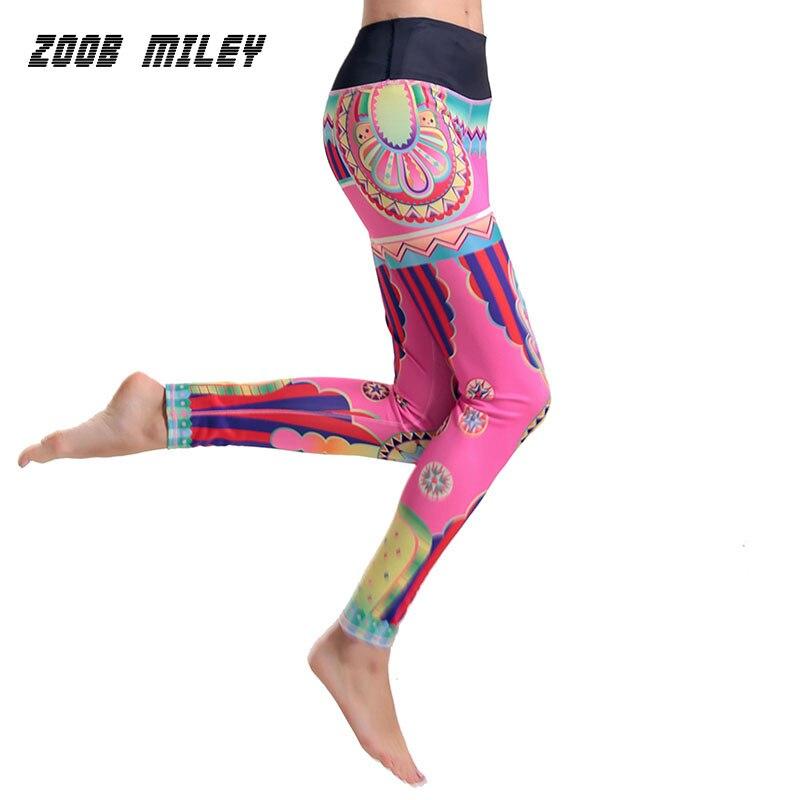 Yoga Pantalon Femmes de Course De Compression Collants Pantalon Fitness Gym  Workout Formation Leggings Femelle Professionnel Élastique Sport 8225ab5c4929