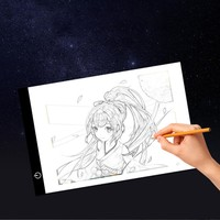 Digital Graphic Tablet A4 LED Artist Thin Art Stencil Drawing Board Light Box Tracing Writing Tablet Pad Painting Teaching Tools