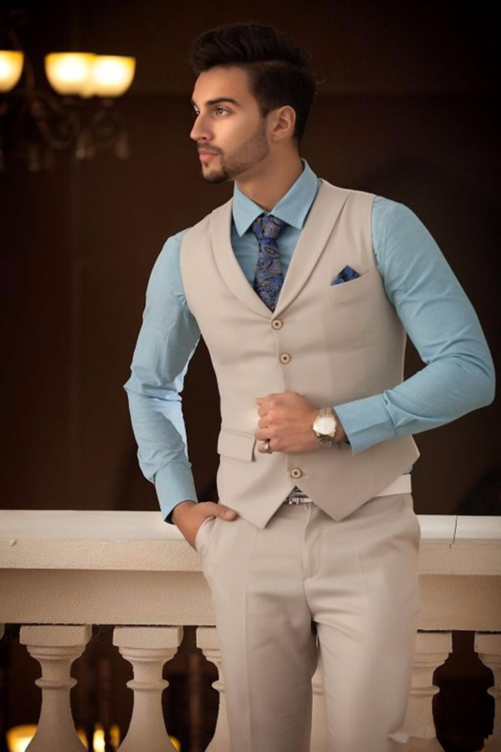 Dinner suit picture more detailed picture about 2017 new for Wedding dresses for men 2017