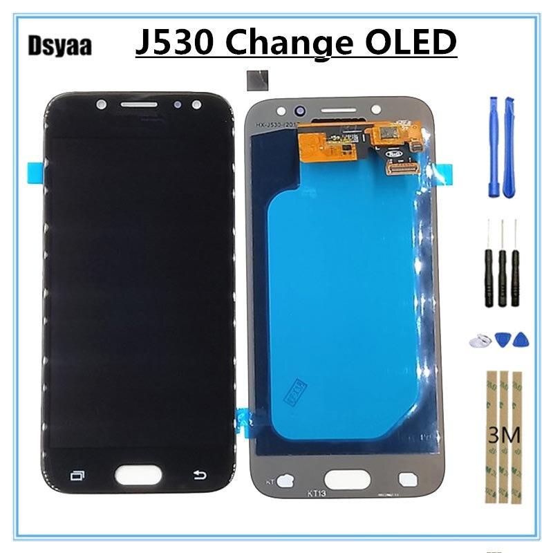 5.2 Pouces Changement OLED pour Samsung pour Galaxy J5 2017 LCD J530 J530F J530FN Affichage Tactile Digitizer Assemblée Remplacement