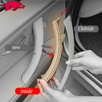For Bmw E90 E91 E92 Door Handle for BMW 3 Series 318 320 F30 F35 Car Inner Door Panel Handle Armrest Panel Pull Trim Inside part