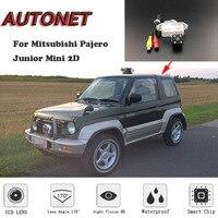 AUTONET HD Night Vision Backup Rear View camera For Mitsubishi Pajero Junior Mini 2D CCD/License Plate camera