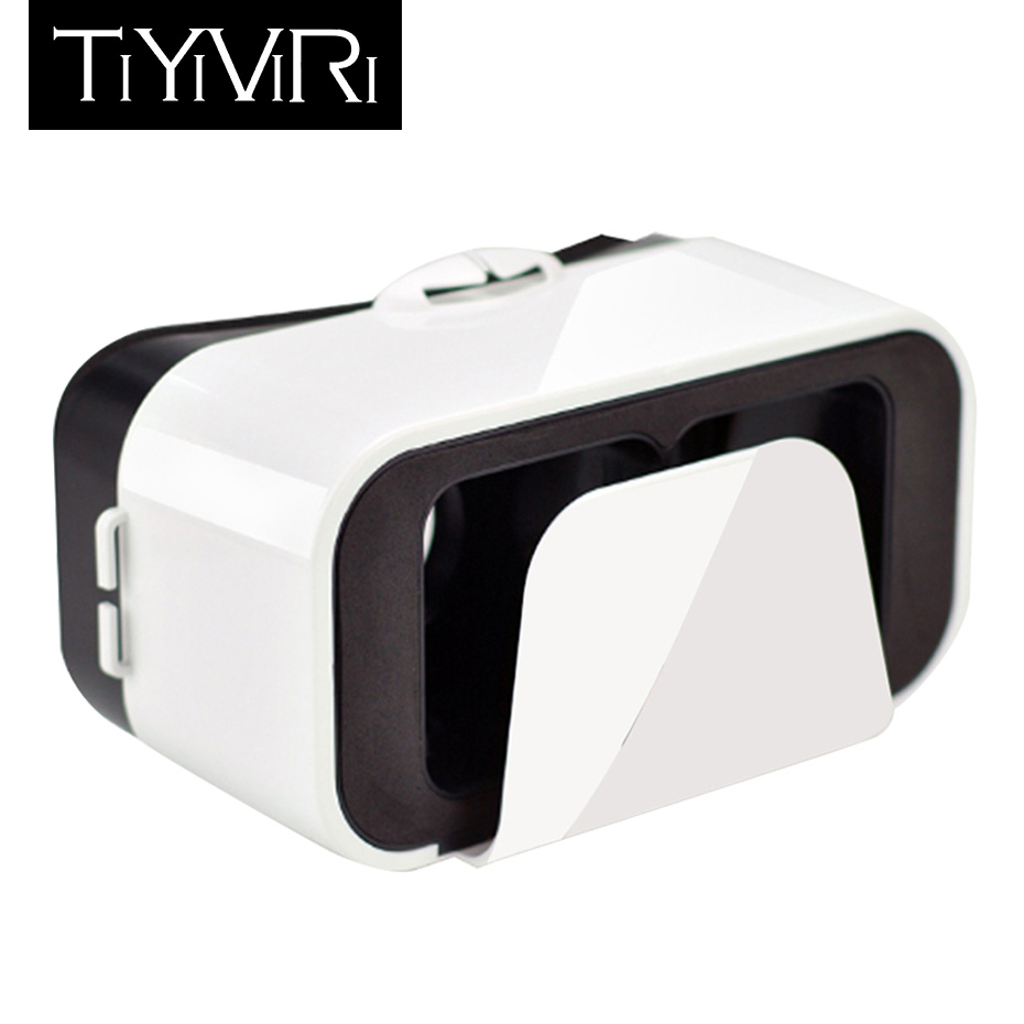 3D Glasses Virtual Reality Google Cardboard VR Glasses Headset For iphone Android 4.7-6.0 Smart Phone VR Box Earphone Game Movie