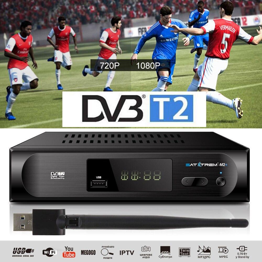H.264 DVB-T2 DVB-C ТВ приемник 1080P цифровой ТВ тюнер приемный TDT DVB T2 наземный Wifi приемник VHF UHF телеприставка DVB-T