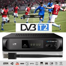 H 264 DVB-T2 DVB-C odbiornik TV 1080P Tuner telewizji cyfrowej Receptor TDT DVB T2 naziemny odbiornik Wifi VHF UHF dekoder DVB-T tanie tanio SATXTREM CN (pochodzenie) DIGITAL M2 Plus MHEG4 Dual CVBS DVB-T2 DVB-T DVB T2 TV Tuner DVBT2 Receiver
