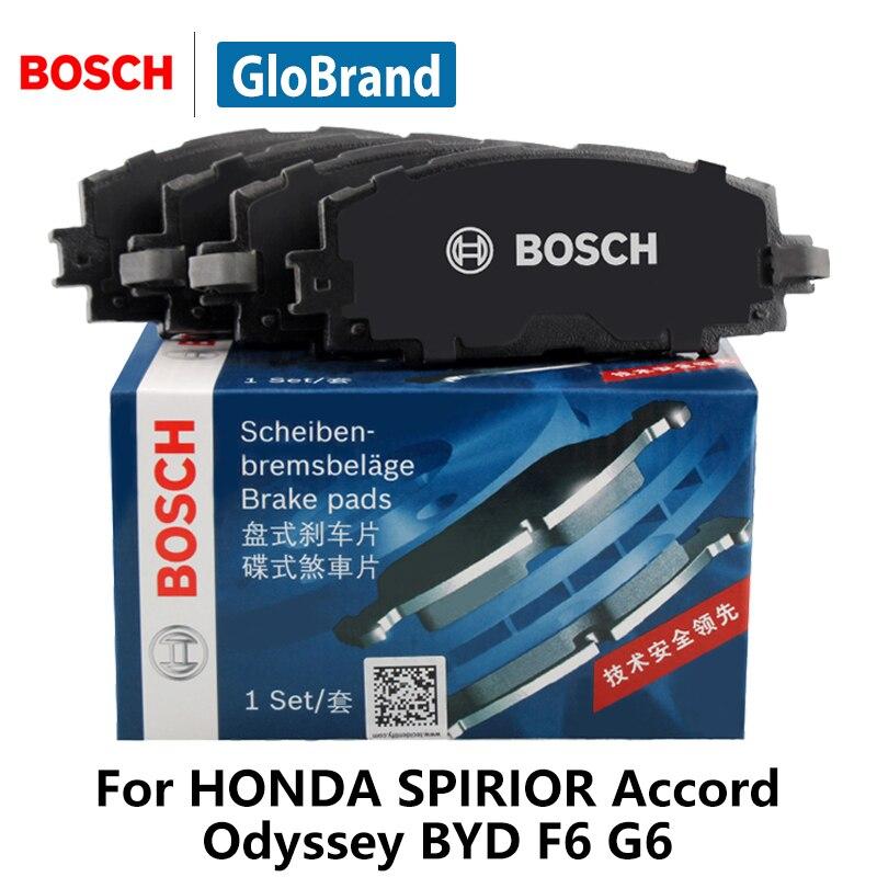 4pieces set Bosch Car Brake Pads Front For HONDA SPIRIOR 2 4 Accord Odyssey 2 3