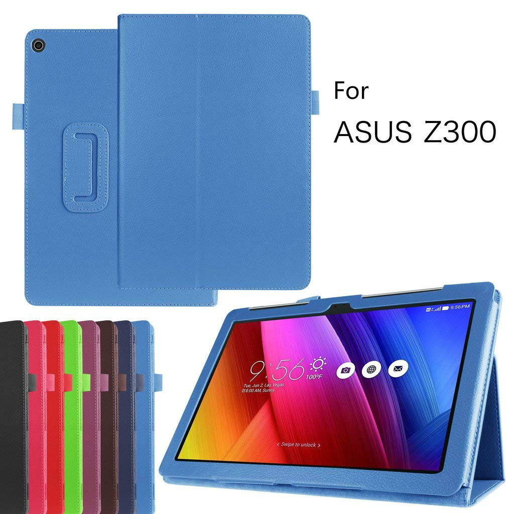 Pu Leather Case Cover for ASUS ZenPad 10 Z300 Z300CX Z300C Z300CG Z301ML P023 Z300M Z301M P00C P01A P00L 10.1 Flip Stand Case for asus zenpad 10 z300 z300c z300cg z300m p00c display panel lcd combo touch screen glass sensor replacement parts